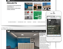 Tall Construction Web Design & Branding