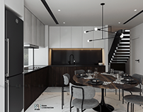 A Chau's interior |CGI and design by: 893.studio