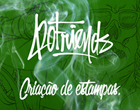 420 Friends - t-shirts design