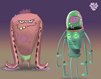 Monsters - Character Design