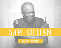 Thesis paper on Sam Gilliam.