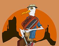Adventures of Steven Seagull / Illustrations