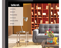 Teleset website interface design JUNE'13