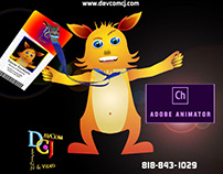 Trevor in Marting: Character Animator Promo