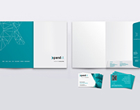 Folder & Business cards for Xpand IT