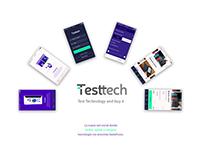 UX/UI Design App Testtech