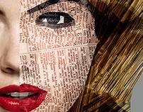 Collage Portraits - Computer Graphic NTA