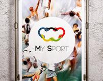 Logo & icon design for My Sport