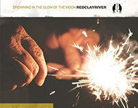 """Album cover design, """"Drowning in the Glow of the Moon"""""""""""