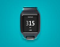 Tomtom Multisport Smartwatch Concept
