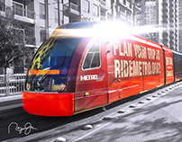 METRO Reliant Train Wrap Re-Purpose