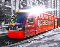 METRO Reliant Train Wrap Re-Purpose