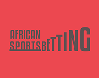 African Sports Betting - identity design