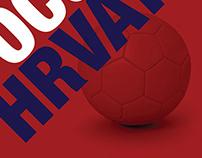 World Cup Quarter Final Poster (Russia V Croatia)
