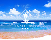 PLEIN CIEL PARADISE - LOGO DESIGN