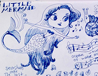 Fairytales in sketches