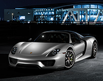 Porsche Samples - CGI & Retouching
