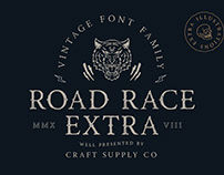 Road Race Extra - Font Family (Free Download)