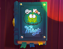 Backgrounds for Om Nom Stories: Magic.