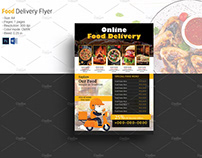 Restaurant Food Delivery Flyer