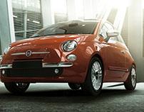 Fiat 500 (externa) | Sunsetcom