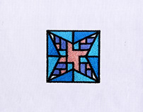 ARTISTIC PASTELS QUILTING EMBROIDERY DESIGN