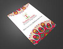 Flyer Design for Toshali International Group of Hotels