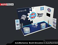 AutoMechanica Official Booth design AutoTech 2018