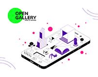 Open Gallery - Website