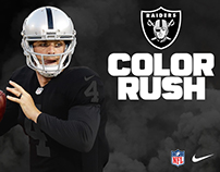 Nike | 2018 Oakland Raiders – Color Rush Blackout