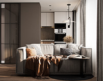 """Apartment in Moscow ZHK """"VTB Arena Park"""""""