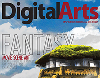 Digital Arts Mock Magazine Covers