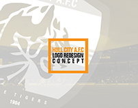 HULL CITY A.F.C  Logo redesign concept