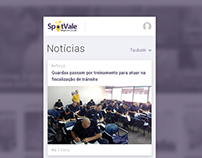 Mobile design | Spotvale app
