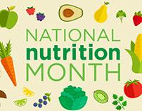 Social Media Ad - Nutrition Month