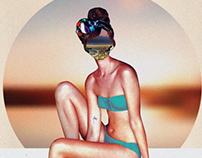 Côte d'Azur| Poster Illustration