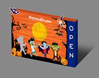 Campaña Halloween 2017-Open Plaza