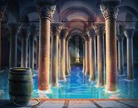 Game Art_Basilica Cistern