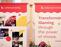 Stand & Merch Design for Catena Media