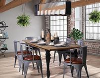 Dining Room I Visualization