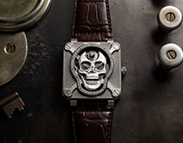 BR 01 Laughing Skull / 2018