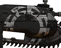 Gears of War UE Custom Weapon Skins