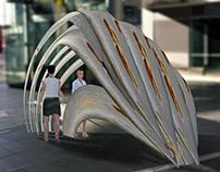 Spatial: Rusted World Art Installation Sydney