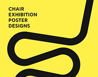 Design Museum - Chair Exhibition Poster Designs