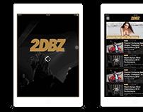 2DBZ (2DopeBoyz.com) - IPad App Concept