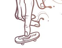 Mr. Skate Hand