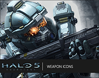 Halo 5: Guardians | Weapon Icons