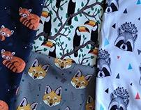 Паттерны на ткань для детской одежды