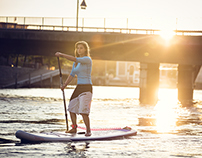 Fanatic Urban SUP Paddleboard Surfing
