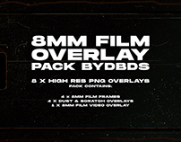 8mm Film Overlay Pack — byDBDS®